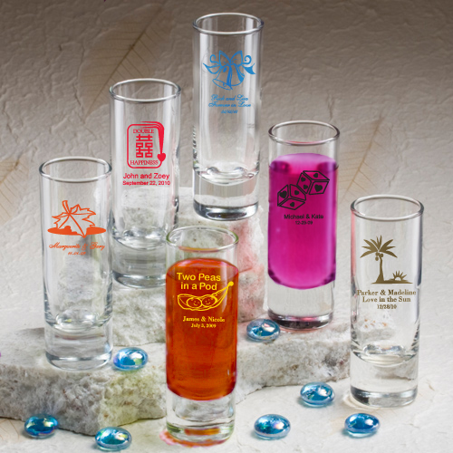 Personalized Shot Glass Favors